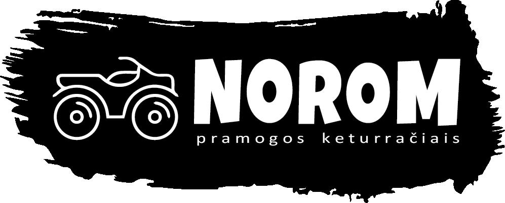 Norom keturračių nuoma Molėtų rajone logo